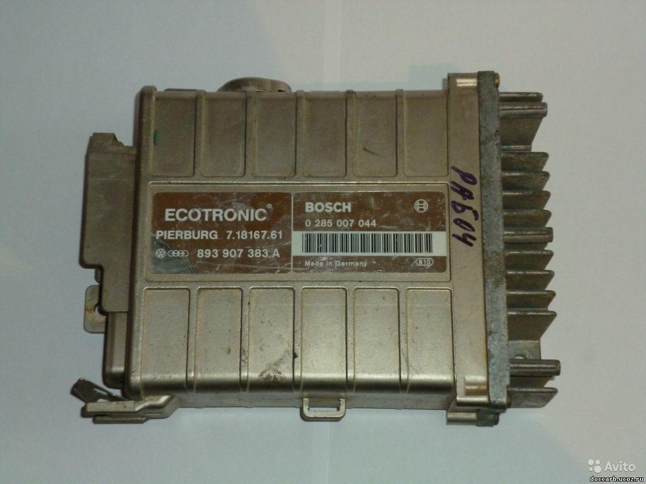 Куплю: электронный блок управления мозги bosh ecotronic pierburg 2ee на опеля омегу